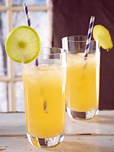 Spritziger Cocktail ohne Alkohol: Ingwer-Apfel-Drink