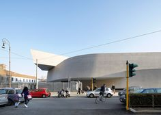 Zaha Hadid : MAXXI: Museum of XXI Century Arts, Rome, Italy, 2009