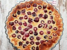 Hungarian Recipes, Irish Recipes, Sweet Recipes, Blueberry Cobbler Recipes, Clafoutis Recipes, Light Desserts, Easy Desserts, Dessert Recipes, Kitchen Recipes