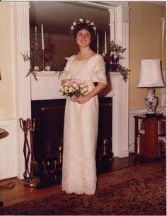 My Beautiful Mother Before Her Wedding 1979 1970s WeddingVintage PhotosWedding Dress