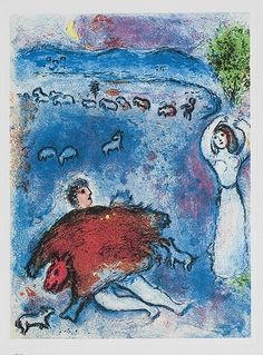 Marc Chagall, Shepherd on ArtStack #marc-chagall #art