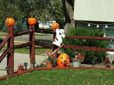 yarddecoratingideas decorations cute halloween decorations halloween - Decorating Ideas For Halloween Outdoor