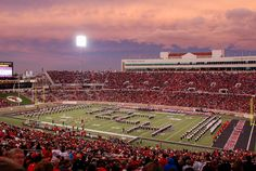 The Goin' Band from Raiderland from Jones At Stadium in Lubbock, Texas.