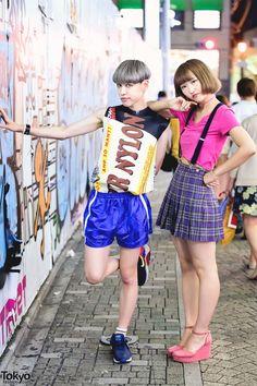 Cute Harajuku Street Styles w/ Raf Simons, Bubbles, WEGO & Listen Flavor (Tokyo Fashion, 2015)