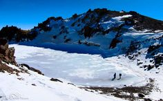 Savalan (Sabalan) peak and lake, Ardebil province, Iran,  Photo credit: Mehdi Shabihzadeh (in Persian: اثر طبیعی ملی قله و دریاچه ساوالان (سبلان)، استان اردبیل)