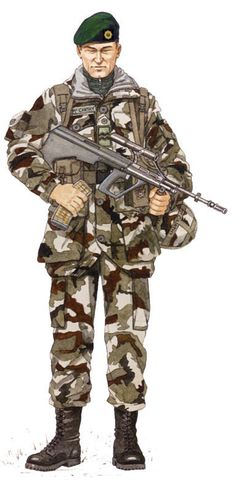 Irlanda-Irish Army Rangers - pin by Paolo Marzioli