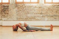 Yoga teacher & perfect model  Jacqueline Dawn Logan-Elhalal