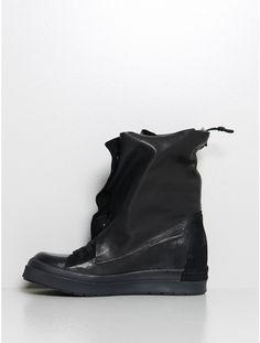 wrap around shoe black