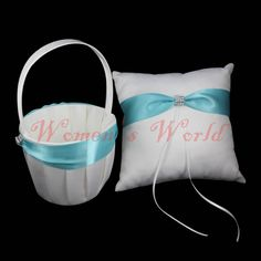 Ring Pillow + Basket Bridal