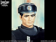 Captain Black, mysteron agent and enemy of Captain Scarlet. Children Of The Revolution, 80 Tv Shows, Thunderbirds Are Go, Vintage Television, Kids Tv, Classic Tv, Online Gallery, Bad Boys, Science Fiction