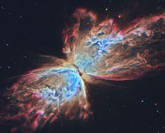 #Astronomy: The Butterfly Nebula from Hubble cc: @NASA_Hubble #APOD #NASA