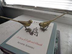 Brass Birds Pair