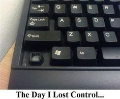 Anyone feel like they are losing control? If so swing by and get adjusted by Dr. Martino!!!