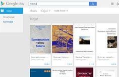 Google Play Store, Kirjat nyt myös suomenkieliset kirjat Play Storessa.