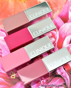 Clinique Pop Lip Colour + Primer is a rich lipstick with built-in primer that smoothes, defines and nourishes lips to deliver long lasting wear with a comfortable feel. Best Lipstick Color, Best Lipsticks, Lip Colour, Gloss Lipstick, Clinique Cosmetics, Clinique Pop, Makeup Cosmetics, Clinique Makeup, Beauty And The Best