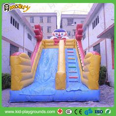 Inflatable Jumper Bouncer Water Slip Slide for Summer Water Play Toy