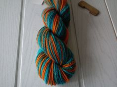 Handspun yarn/New Zealand wool/140m/98g/3ply/worsted