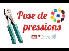 TUTO #10 : Pose de boutons pressions en plastique (Pince Prym Vario Love) - YouTube Techniques Couture, Sewing Techniques, Couture Sewing, Sewing Hacks, Sewing Tips, Diy And Crafts, Gift Wrapping, Poses, Crochet