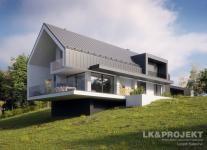 Projekty domów LK Projekt LK&1381