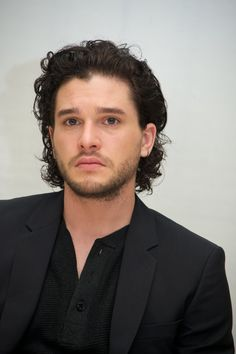 Pin for Later: Here's What 14 Hot Celebrity Guys Would Look Like on a Date With You Kit Harington, After You Tell Him You're Busy This Week, but Can Maybe Do Next Thursday Depending on Your Schedule