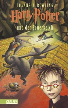 The Hardcover of the Harry Potter und der Feuerkelch (Harry Potter and the Goblet of Fire) (Harry Potter by J. Rowling at Barnes & Noble. Harry Potter Goblet, La Saga Harry Potter, Harry Potter Magic, Harry Potter Characters, Rowling Harry Potter, Lord Voldemort, Joanne K Rowling, Hogwarts, Harry Potter Book Covers