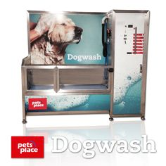 Now you can wash your Dog at Pet's Place in Vught (the Netherlands). The new Dog Wash is being installed this very moment!