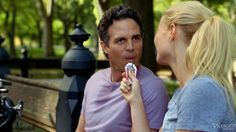 "Mark Ruffalo in a still from the first trailer for ""Thanks For Sharing."" It features a pretty impressive cast. See it here: http://www.deadline.com/2013/06/530196/  What do you think? Possibly worth seeing?"