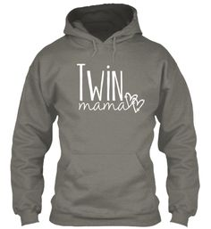 Twin Mom 2 Hearts Logo Hoodie and Tanks