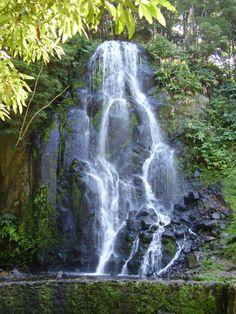 Waterfall nordeste  {sao miguel}