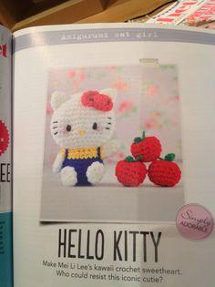 Hello Kitty crochet | Simply Crochet Issue 23