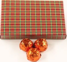 Scott's Cakes Dark Chocolate Orange Liqueur Italian Butter Cream Candies with Orange Foils in a 1 Pound Christmas Plaid Box >>> Wow! I love this. Check it out now! : Gift Baskets