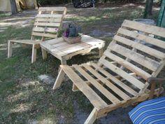 DIY Pallet Furniture for Your Beautiful Garden | Pallet Furniture Ideas