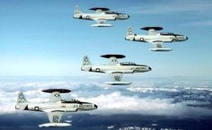 T-33's from the 318th FIS out of McChord AFB.
