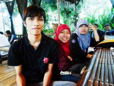 Three of us (again!), Bogor, When Ramadhan 2013.
