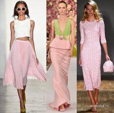 Мода и стиль: Модные цвета весна-лето 2015