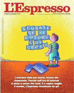 La copertina dell'Espresso in edicola da domenica 26 febbraio