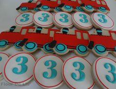 Train Cookies, by Flour De Lis