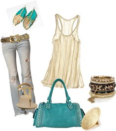 Just call me golden!, created by gina-al on Polyvore