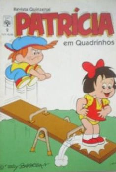 Revista em Quadrinhos Patrícia #nostalgia