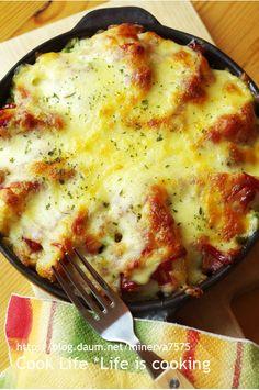 웨지감자 식빵 떠먹는 피자 – 레시피 | Daum 요리