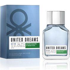 United Dreams Go Far 3.2 oz EDT for men