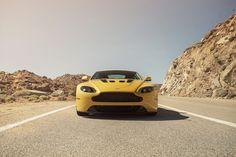Yellow Aston. Aston Martin V12 Vantage, Ride Along, Fast Cars, Super Cars, Bike, Vehicles, Satan, Luxury, Yellow