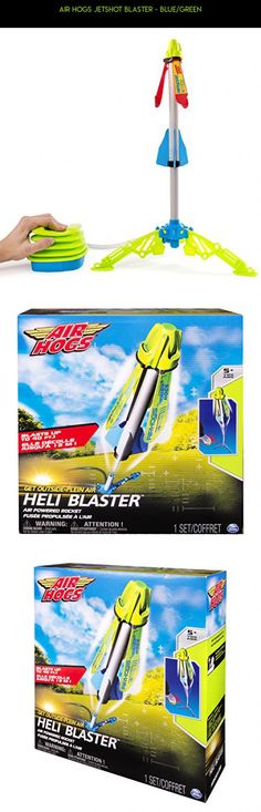 Air Hogs JetShot Blaster - Blue/Green #parts #air #camera #plans #shopping #drone #gadgets #kit #rocket #technology #products #racing #hogs #fpv #tech
