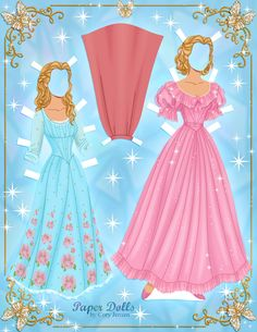 Disney Cinderella (2015) #paperdolls 2 of 9 | by Cory Jensen.