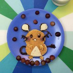 dedenne Pokemon breakfast