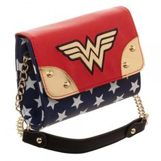 Wonder Woman Crossbody Handbag Juniors Sidekick DC Comics Bioworld for sale online Wonder Woman Movie, Wonder Woman Logo, Mini Handbags, Cross Body Handbags, Dc Comic Costumes, Cute Crossbody Bags, Superhero Gifts, Cartoon Bag, Printed Bags