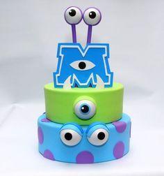 Trendy Cake Birthday Boy Disney Monsters Inc Ideas Trendy Cake Birthday Boy Disney Monsters Inc Ideas Monster Inc Party, Monster Inc Cakes, Monster University Birthday, Monster Inc Birthday, 3rd Birthday Cakes, Boy Birthday, Bolo Fake Eva, Bolo Fack, Monsters Inc Baby Shower