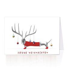 Lustige weihnachtskarten tierarzt tierarztpraxis - Wwf weihnachtskarten ...