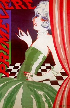 Primevera.Rene Magritte.Style: Art Deco.Technique: lithography. Date: 1926.: Galerie Isy Brachot, Brussels, Belgium
