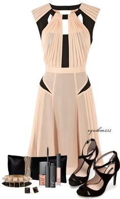 Blush Beauty / pinning for the shoes Stylish Outfits, Cute Outfits, Fashion Outfits, Womens Fashion, Classy Outfits, Look 2015, Blush Beauty, Look At You, Polyvore Outfits